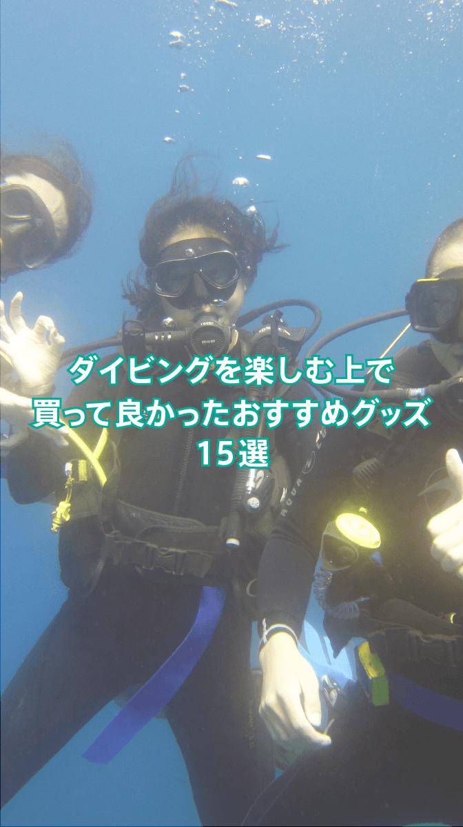 ブログ記事「初心者ダイバーにおすすめの商品・便利グッズ・水中カメラまとめ」のサムネイル画像