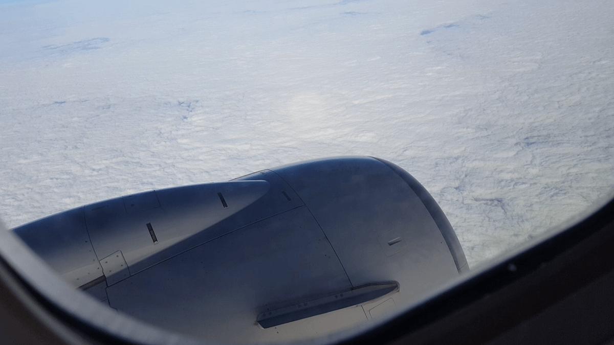 札幌上空で撮影した雲の写真