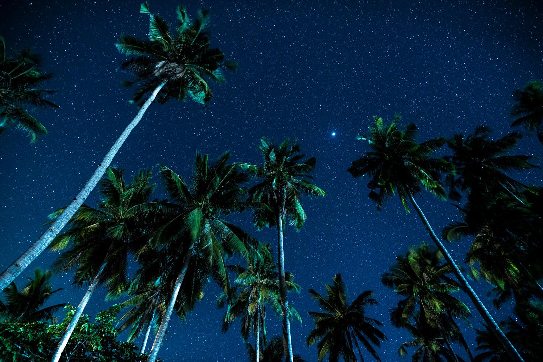 パラワン島・エルニドの綺麗な星空写真