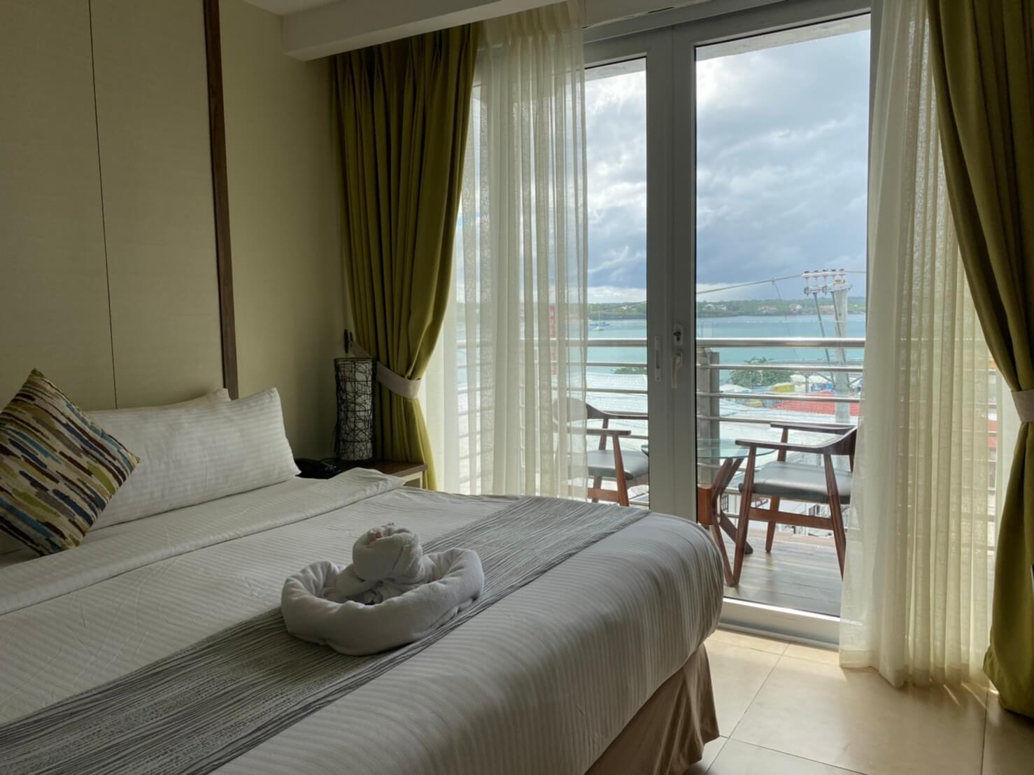ボホール島のホテル室内の写真