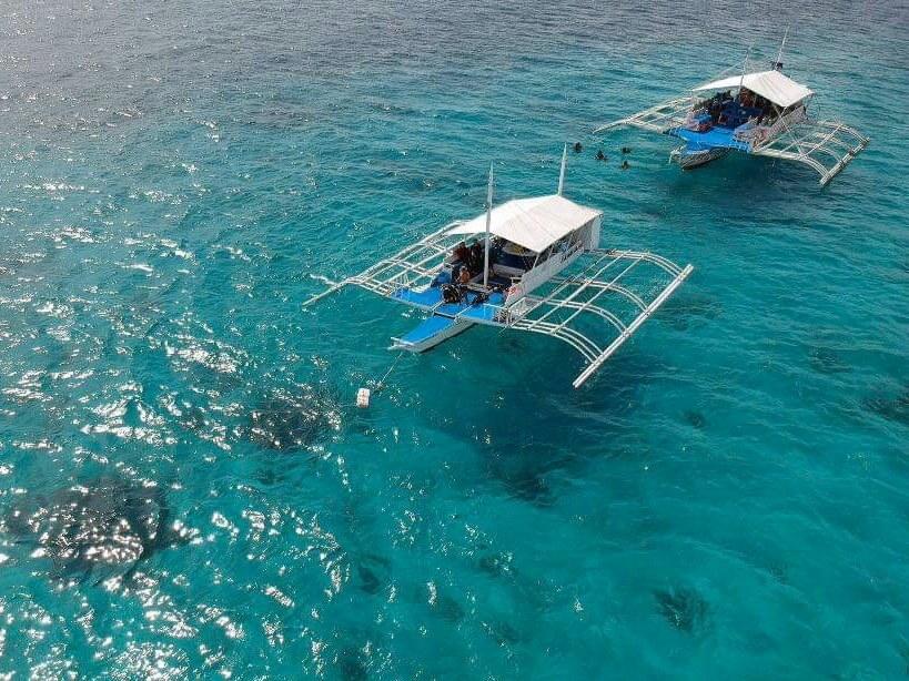 フィリピンのバンカーボートの写真