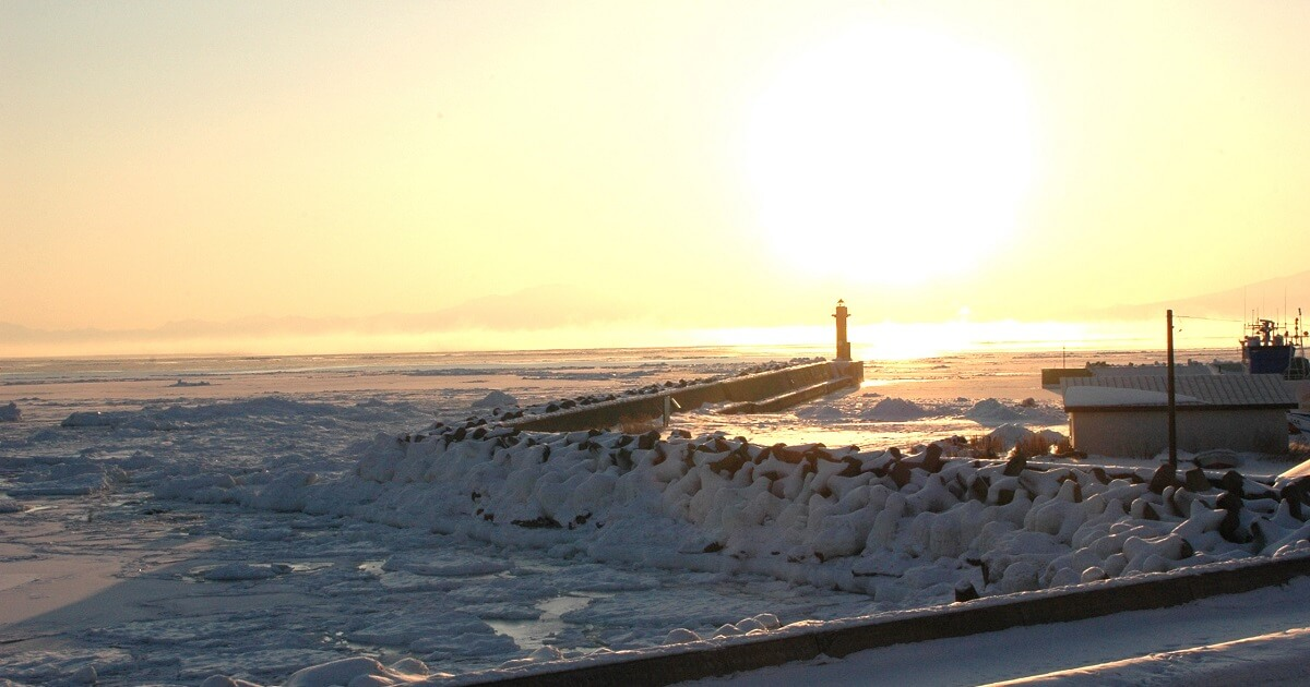 北海道の海の水温の画像