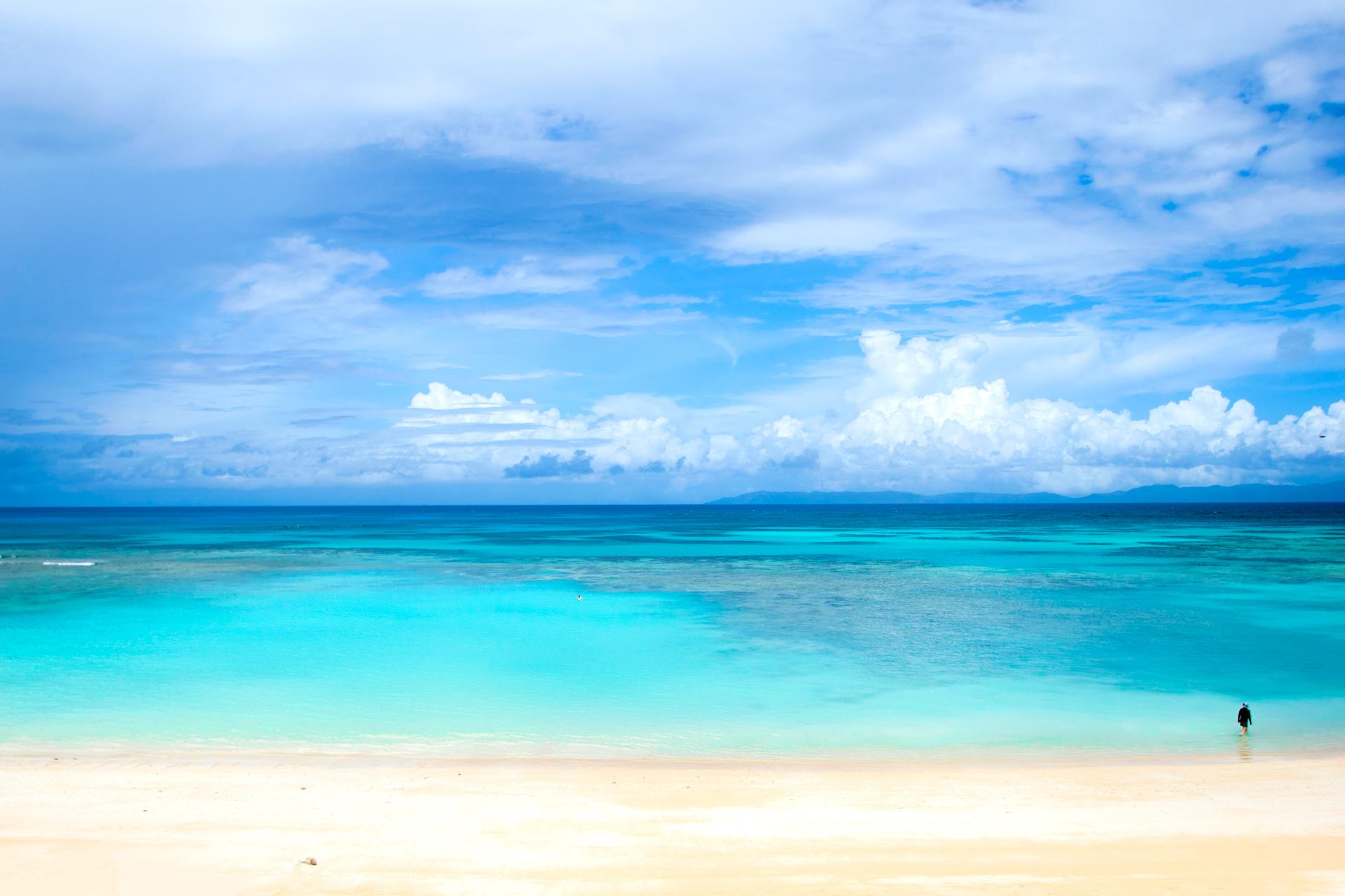 波照間島・ニシ浜ビーチの写真画像